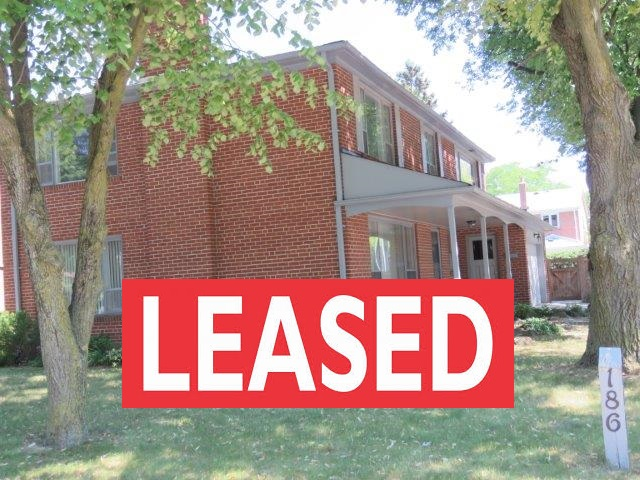 186 Fenn Ave LEASED – FOR LEASE BY OWNER