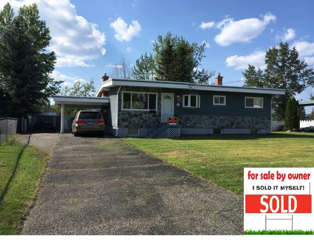 FOR SALE BY OWNER PRINCE GEORGE BRITISH COLUMBIA – SOLD!