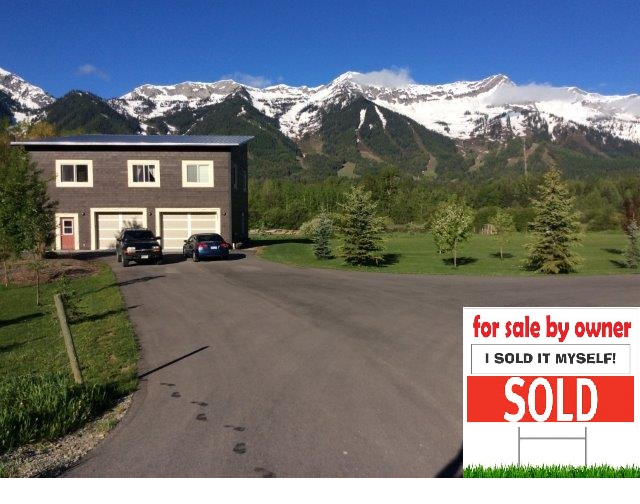 SOLD! FERNIE BRITISH COLUMBIA FOR SALE BY OWNER